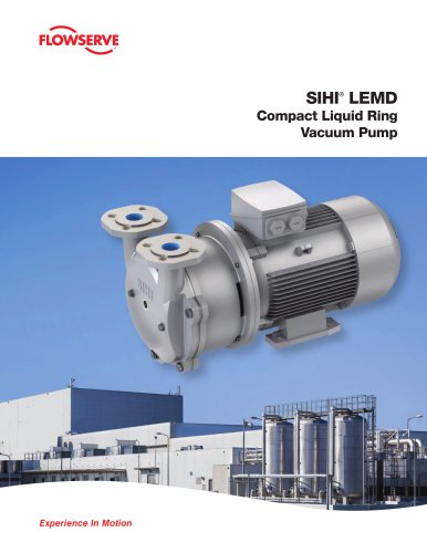 SIHI LEMD Compact Liquid Ring Vacuum Pumps