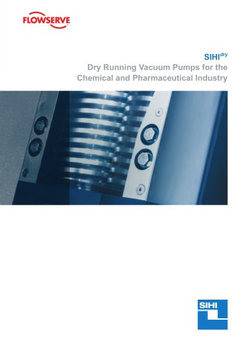 SIHIdry Dry Running Vacuum Pumps for the Chemical and Pharmaceutical Industry