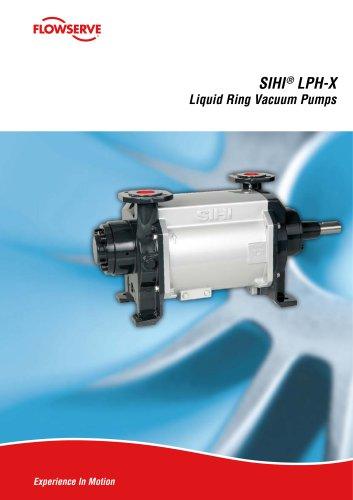 SIHILPH-X Liquid Ring Vacuum Pumps