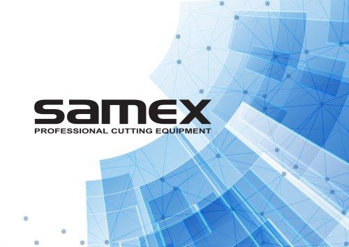 SAMEX Product Range 2020