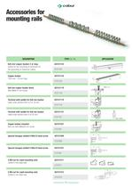 Accessories for mounting rails - 4