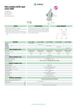 Electromechanical relay modules - 11