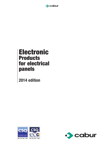 electronic products for electrical panels