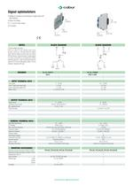 Solid state relay modules and passive interface modules - 8