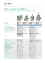 Terminal blocks for electrical boards - 10
