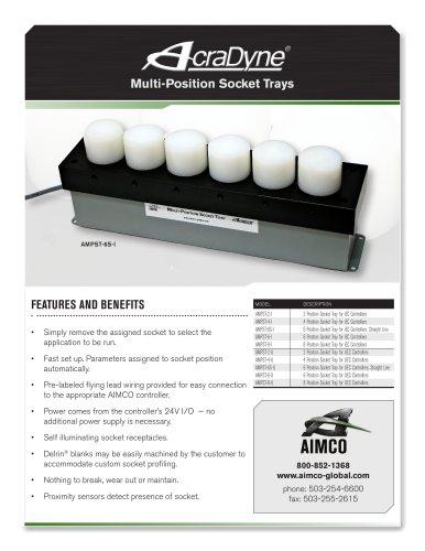 AcraDyne Multi-Position Socket Trays