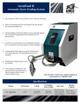 AcraFeed II Automatic Screw Feeding System - 1