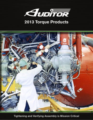 Auditor 2013 Torque Products Brochure