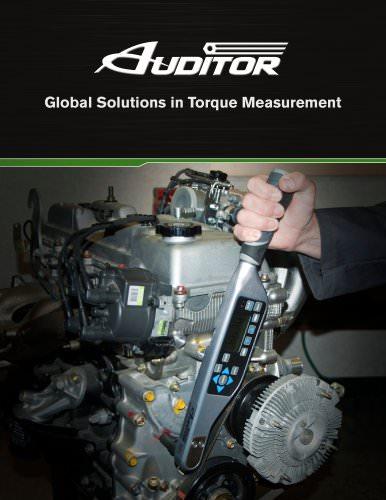 Auditor Global Solutions in Torque Measurement Brochure
