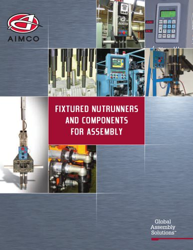 Fixtured Nutrunners and Components for Assembly Catalog
