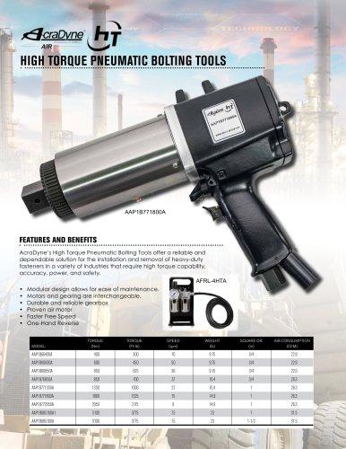 High Torque Pneumatic Bolting Tools