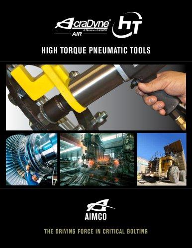 HIGH TORQUE PNEUMATIC TOOLS