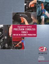 Signature Series Precision Cordless Tool Catalog