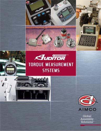 Torque Measurement Systems Catalog