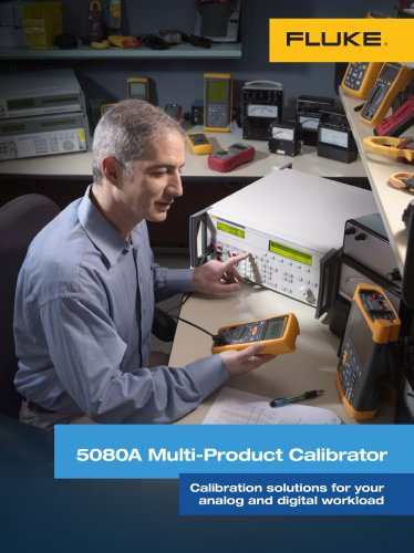 5080A Multi-Product Calibrator
