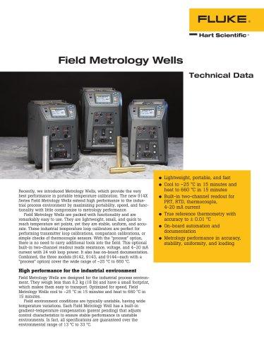 Field Metrology Wells