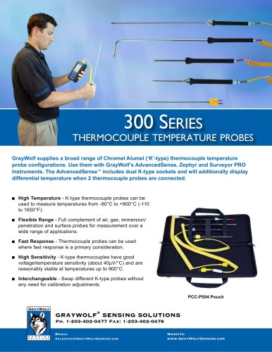 Thermocouple Temperature Probes