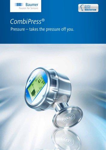 CombiPress® - Pressure - takes the pressure off you