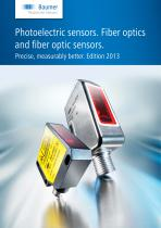 Photoelectric sensors. Fiber optics and fiber optic sensors.