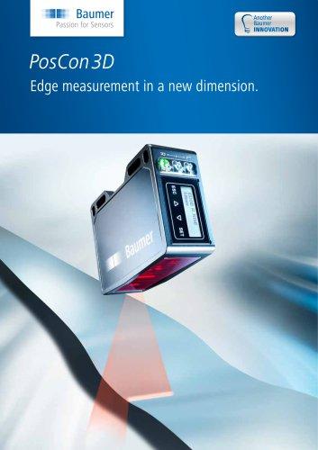 PosCon3D - Edge measurement in a new dimension.
