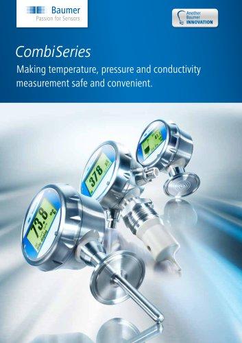 Pressure- / Temperature measurement - CombiSeries