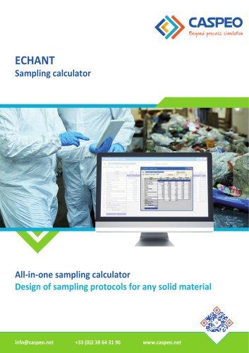 ECHANT - Sampling calculator
