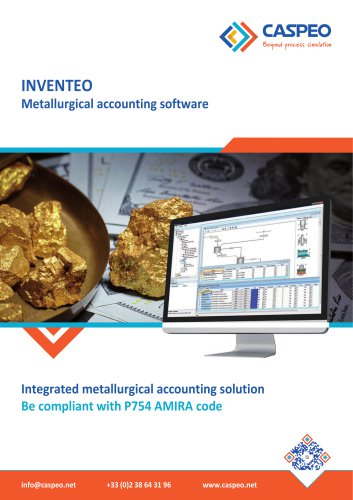 INVENTEO - Metallurgical accounting software