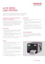 64-0x product brochure