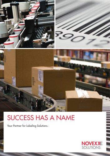 NOVEXX Solutions company brochure