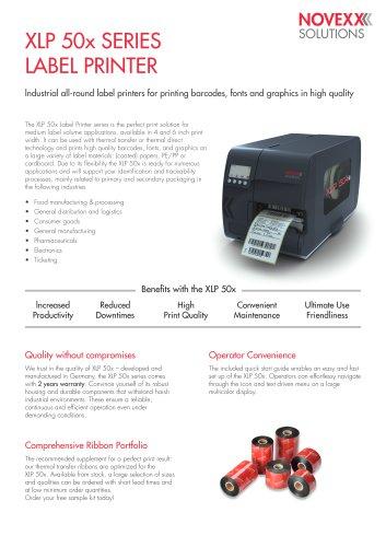 XLP 50x Series Label Printer