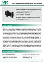 Industrial Fiber Converter /AOBO 10011