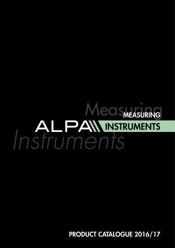 Alpa's Complete Catalog