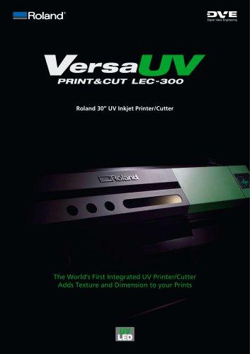 Print and Cut Brochure: LEC-300