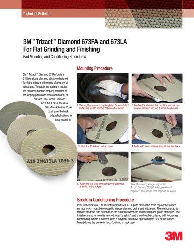 3-tlg Premium-Set 3M Trizact 337DC CF Schleifband30 x 533 mmMittelschliff