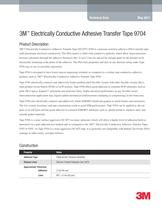 3M Electrically Conductive Adhesive Transfer Tape 9704