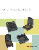 3M?  Textool?  Test and Burn-In Sockets