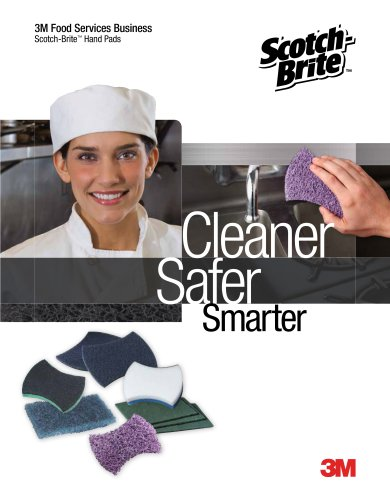 Scotch-Brite(TM) Hand Pads Brochure