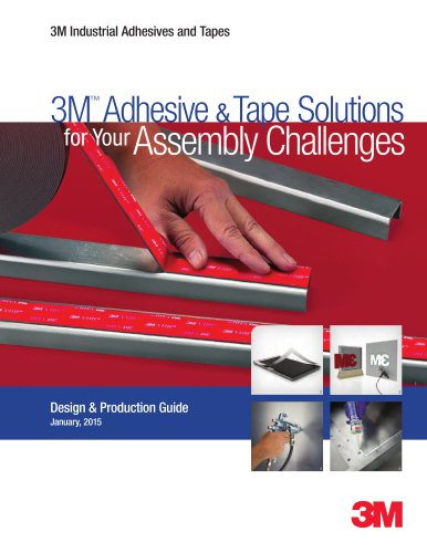 3M Adhesive & Tape for Solutions Assembly Challenges