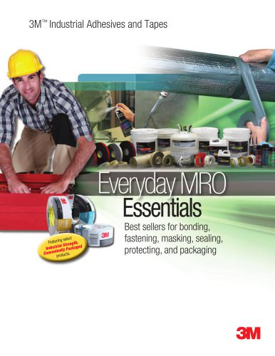 3M Industrial Adhesives and Tapes Everyday Essentials MRO