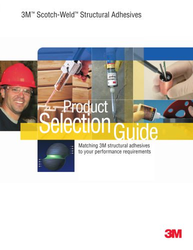 3M - Scotch-Weld - Structural Adhesives