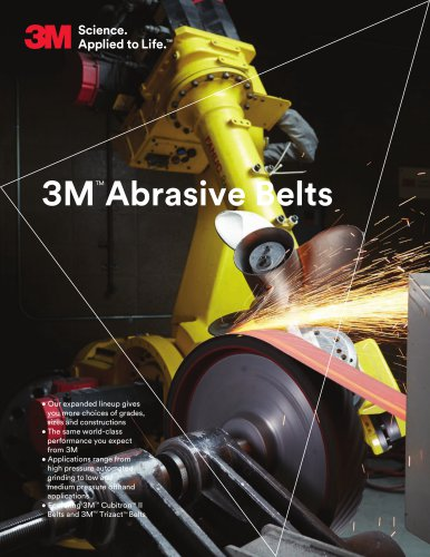 3MTM Abrasive Belts