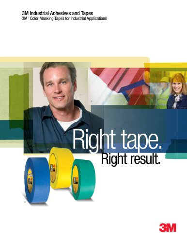 Color Masking Tapes for Industrial Applications
