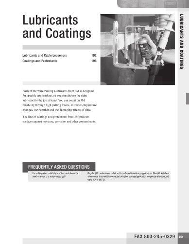 lubricants and Coatings