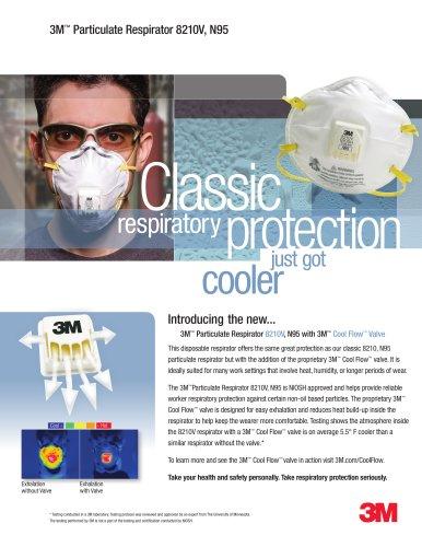 3m 8210v particulate respirator n95
