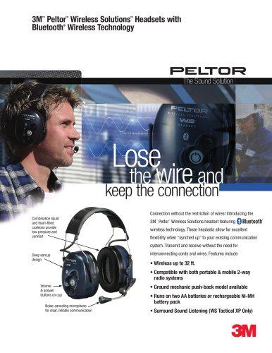 3M Peltor Wireless Solutions Headsets