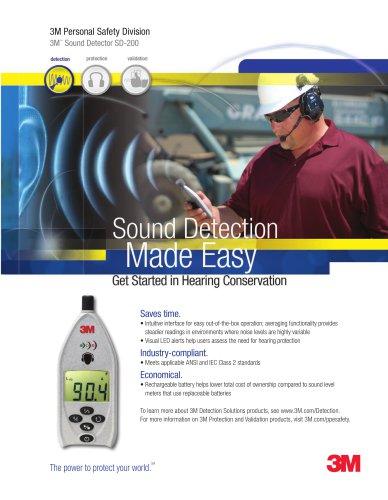 3M? Sound Detector SD-200 - 3M Occupational Health