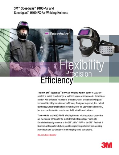 3M Speedglas 9100-Air and FX-Air Brochure