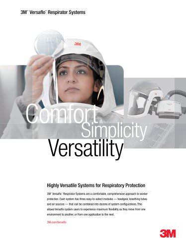 3M Versaflo Respirator Systems
