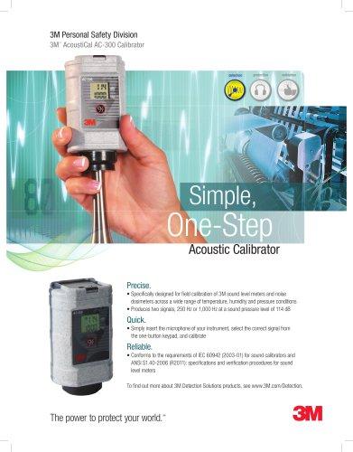AcoustiCal AC-300 Calibrator