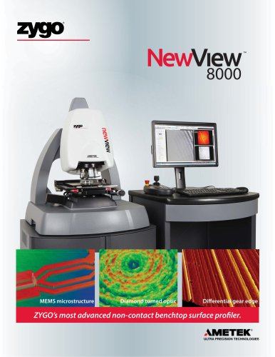 NewView™ 3D Optical Profilers